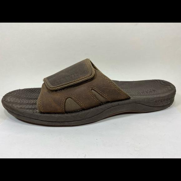 Sperry Topsider Leather Slide Sandals
